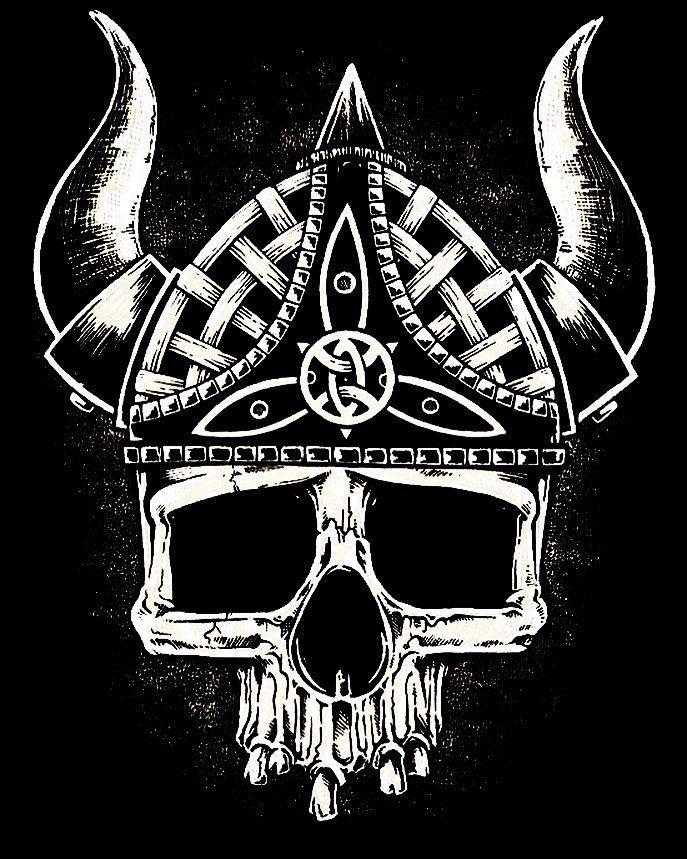 фото черепа викингов руны картинки сайт