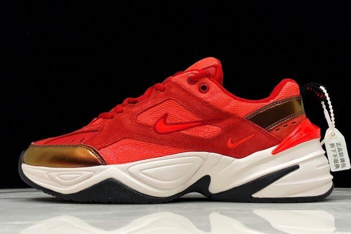 Nike M2k Tekno Red Suede University Red Phanton Bright Crimson Av7030 600 Best Sneakers Womens Sneakers Sneakers