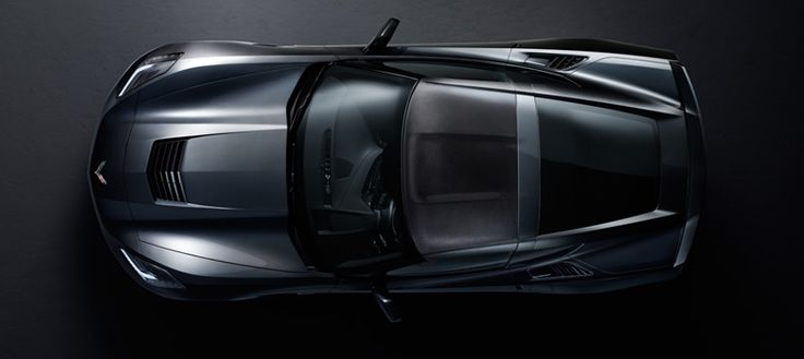2014 Corvette Reveal - Top veiw