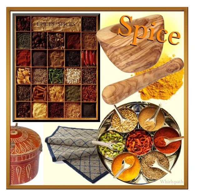 Spice! by whirlypath on Polyvore featuring interior, interiors, interior design, home, home decor, interior decorating, Frontgate, Arthur Price and kitchen