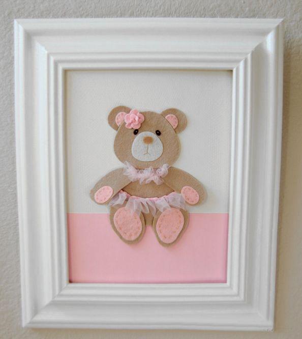 quadro-para-quarto-de-bebe-ursinha