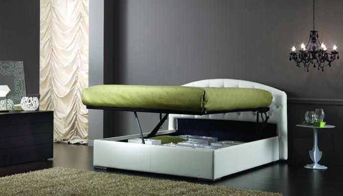 www.oggioni.it  PREMIUM C aperto con meccanismo di apertura e sollevamento LEVITEC...per rifare il letto senza piegarti...come una vera Principessa!