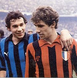 Beppe e Franco Baresi
