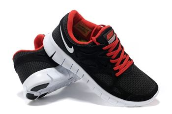 Nike Free 2 Black Red For Men Shoes For Running      #Black  #Womens #Sneakers
