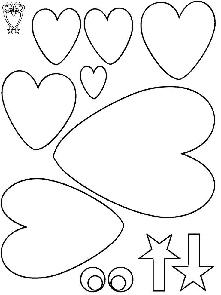 Uil van hartjes
