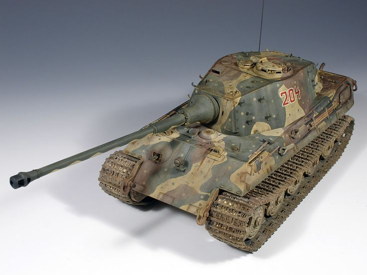 Sd.Kfz.182 Panzerkampfwagen Tiger Ausf. B (King Tiger) Heavy Tank (Germany)