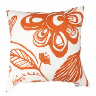 Amazonas White/Orange Cushion