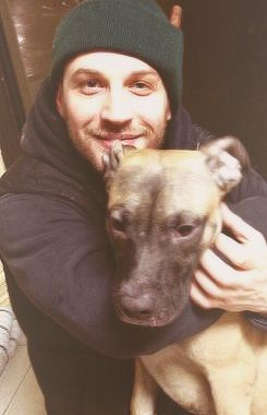 Tom with a puppy - you're welcome.