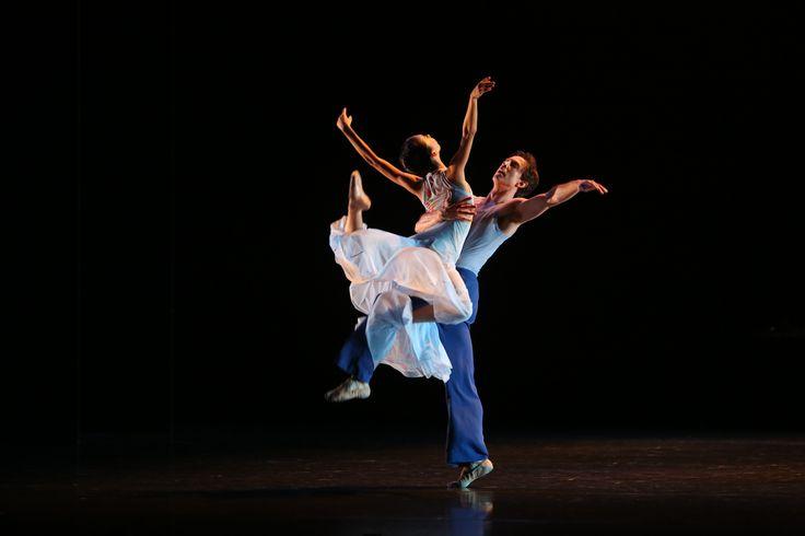 Principal Matthew Lawrence and Company Dancer Lina Kim in Gareth Belling's Sweet Beginnings in Elegance Photographer David Kelly
