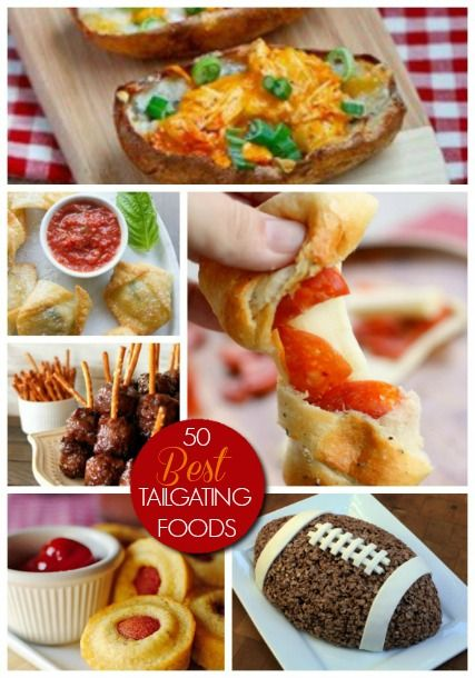 Tailgating Food 50 Best Football Game Day #Recipes #Football #tailgating