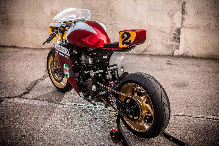 """itsbrucemclaren: """" ——- Rocket Man: Triumph Legend TT by XTR Pepo ——– """""""