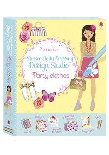 Usborne Sticker Dolly Dressing Design Studio: Party Clothes