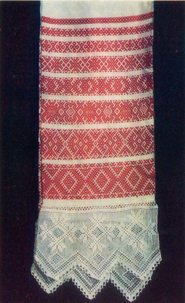 РУССКОЕ НАРОДНОЕ ИСКУССТВО | полотенце,рушник | Постила