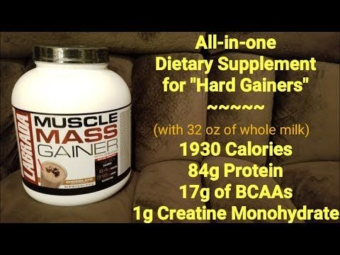 MUSCLE MASS GAINER Supplement Overview | LABRADA Nutrition