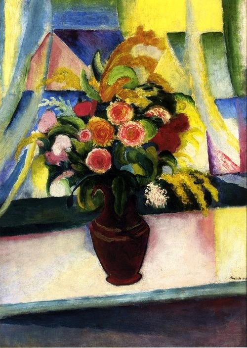 bofransson:    Untitled, 1913 August Macke