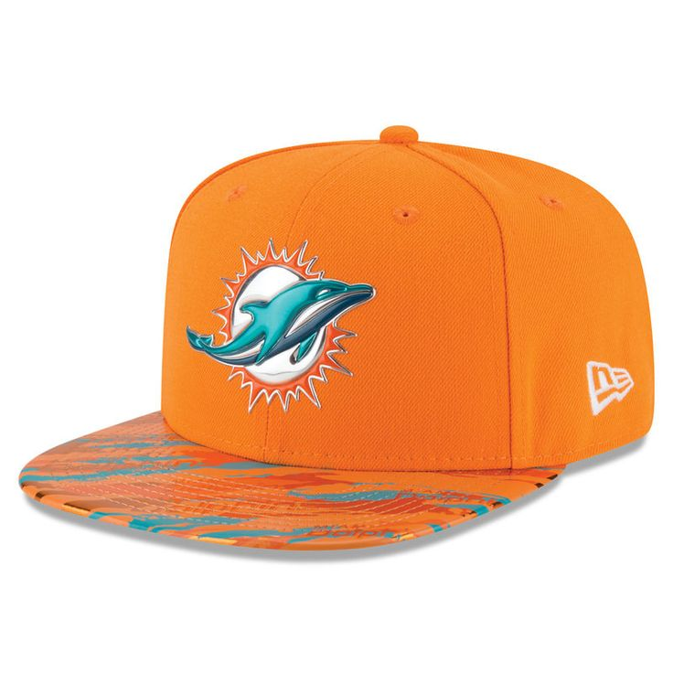 900faee5362570 ... sale miami dolphins new era color rush on field original fit 9fifty  snapback adjustable hat orange denmark forever collectibles miami dolphins  christmas ...