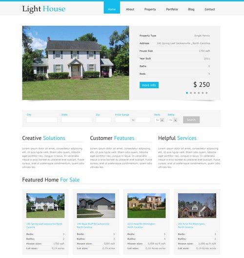 Light House - Clean Real Estate WordPress Theme | Xtratheme