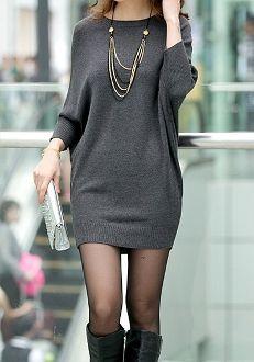 One piece sweater. Women's fashion style
