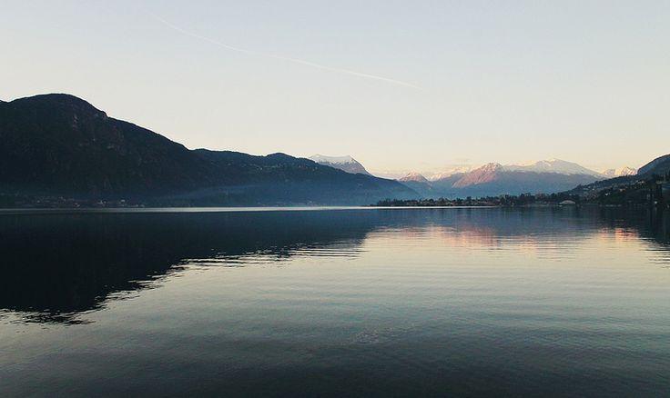 lake Como, view from Abbadia Lariana.