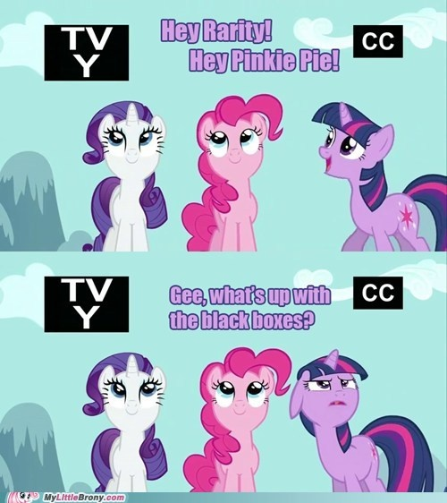 Twilight, don't go breaking the Fourth Wall! That's Pinkie's job!
