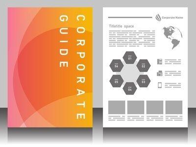 会社案内・会社パンフレットの作り方とデザイン参考例|書式のダウンロードと書き方は書式の王様