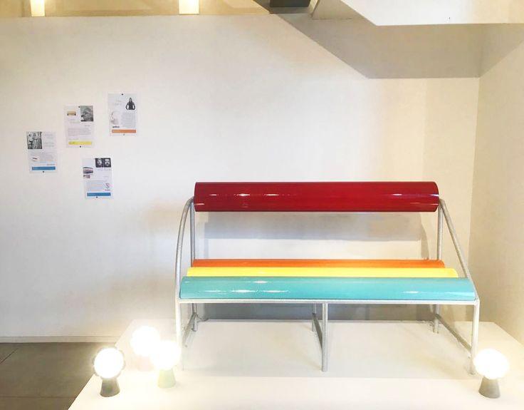 #flash #bench, #galactica collection design by #AntonioAricò for #altreforme at #Toysoggettiearrediludiciindialogoconlarte exhibition, #interior #home #decor #homedecor #furniture #aluminium #woweffect #madeinitaly