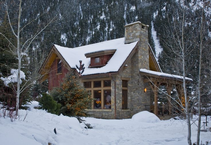 25 b sta alaskan cabins id erna p pinterest lodges for Colorado cabin winter