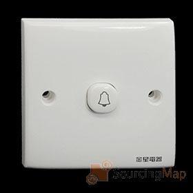 monter-couvercle-mur-sonnette-porte-plaque-bouton-sonnette-interrupteur-56021n
