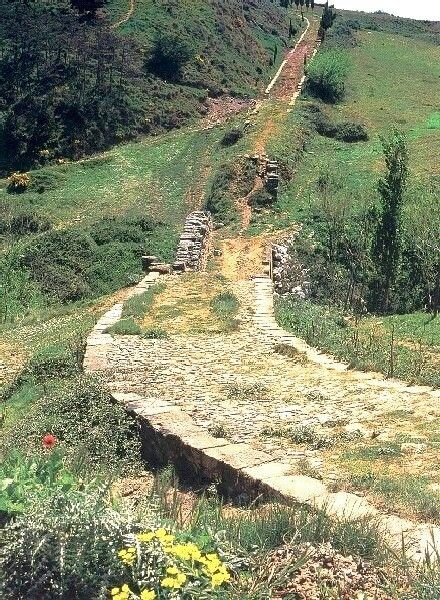 The long straight roads built by the Romans have, in many cases, become just as famous as their greatest emperors. Roman engineers were audacious in their plans to join one point to another in as straight a line as possible. Consequently, roads used bridges, tunnels, & other architectural & engineering tricks to create a series of breathtaking but practical monuments which spread from Portugal to Constantinople. The network of Roman roads covered over 120,000 km. (Info by Mark Cartwright)…