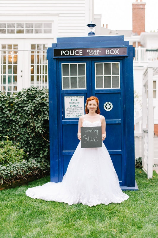 Something Old New Borrowed Blue Tardis Photo Booth At