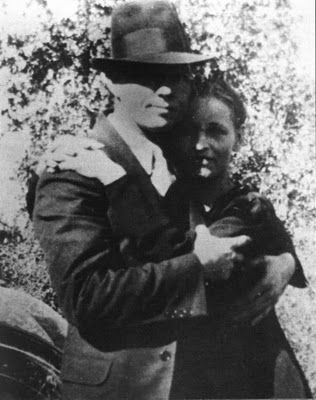 """""""They don't think they're too tough or desperate,They know that the law always wins; They've been shot at before, But they do not ignoreThat death is the wages of sin.""""    Bonnie Parker, 'The Story of Bonnie and Clyde'"""