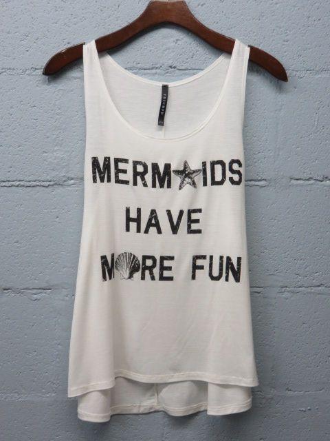 MERMAID shirt, so cute!