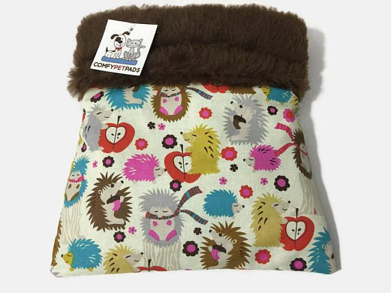 Hedgehog Snuggle Sack, Bonding Bag, Carrier Pouch, Sugar Glider Pouch, Cozy Den, Hamster Bedding, Cuddle Bag, Small Animal Bedding #CarrierPouch #ChinchillaCave #SugarGliderPouch #CuddleBag #SmallAnimalBed #SnuggleSack #SmallAnimalBedding #CozyDen #FerretBedding #HamsterBedding