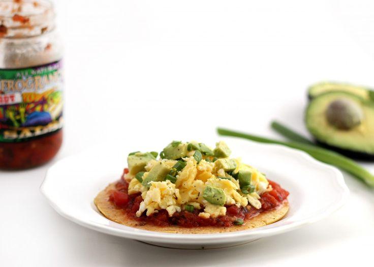 Chickpea Flour Breakfast Pizza | Hummusapien