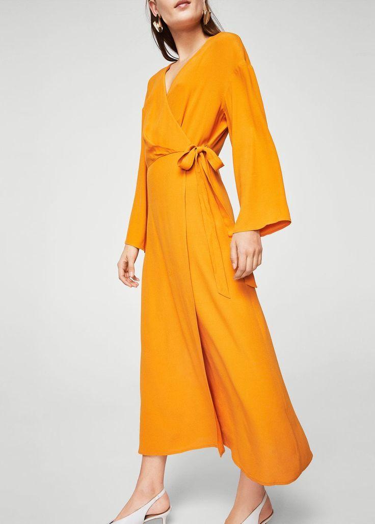 Mango Designer Clothes | Crossed Design Dress Women In 2019 Mango Pinterest Dresses