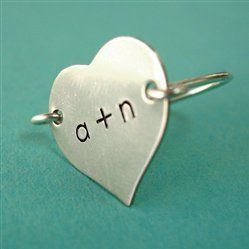 #Annie Nygard             #ring                     #Heart #Initials #Ring #Spiffing #Jewelry           Heart Initials Ring - Spiffing Jewelry                                        http://www.seapai.com/product.aspx?PID=1829010
