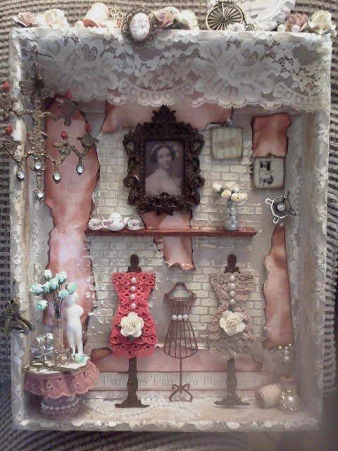 Grandmas sewing room - Scrapbook.com
