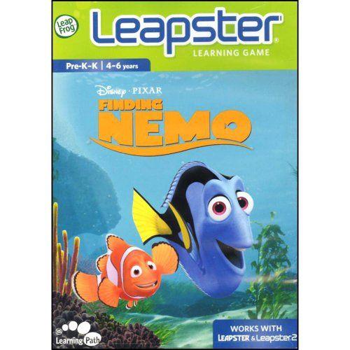 LeapFrog Leapster Learning Game Finding Nemo LeapFrog Ent...