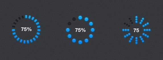 Progress Bars    This psd freebie is a bunch of useful progress bars. This completes my first version of progress bars and I plan to create a second set of progress bars if people are interested.