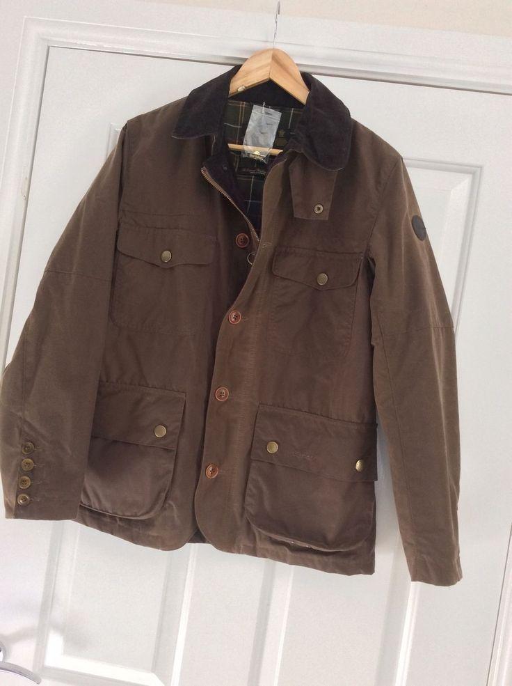 barbour mens jacket ebay