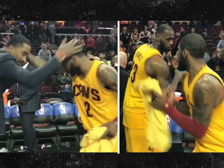 Cleveland Cavs' Handshake Game Still On Point (VIDEO)