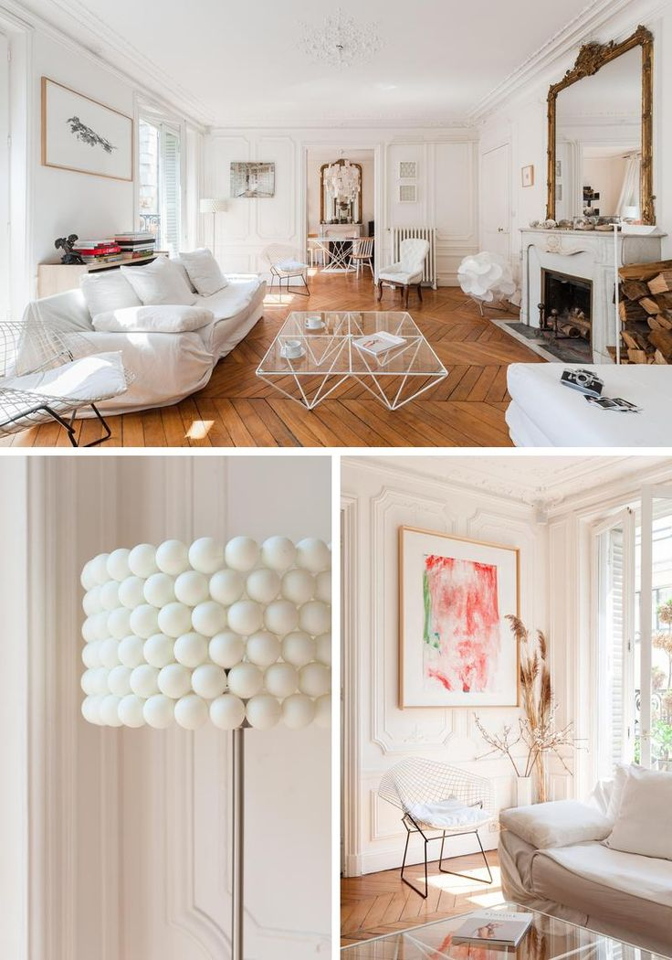 124 best Appartement haussmannien images on Pinterest Apartments - decoration encadrement porte interieur