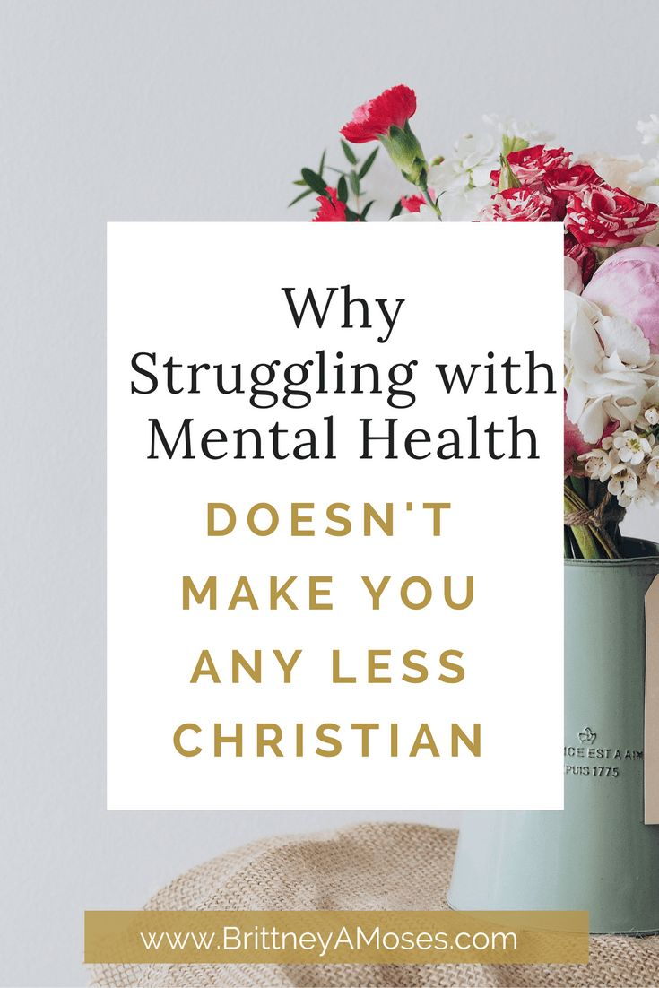Christian dating mental health