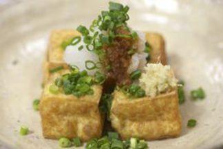 Deep fried tofu recipe for NHK's Your Kitchen Mini 💜
