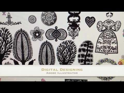 Fiona Howard Textile Designer - YouTube