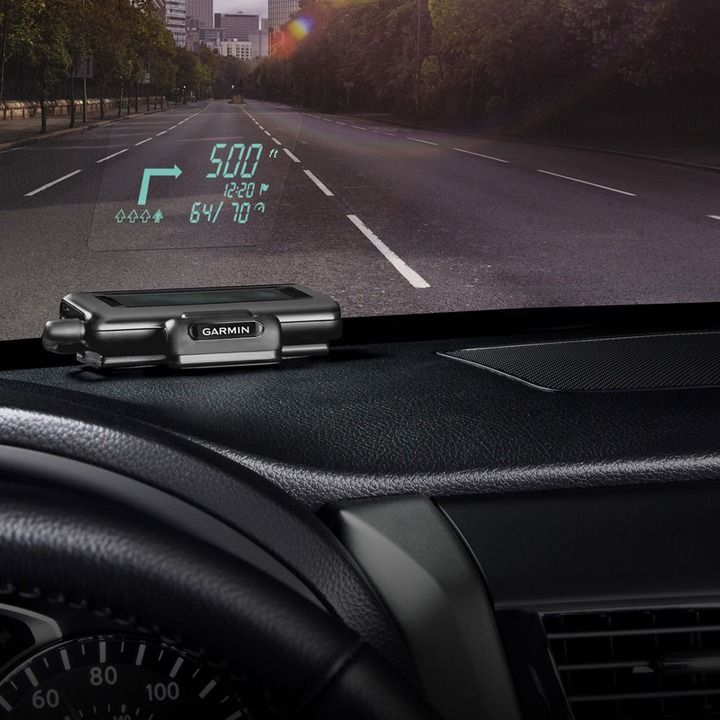 Garmin's Portable Head-Up Display Adds A High-Tech Touch