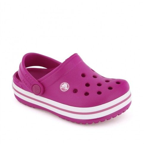 Sandale plaja fete Crocband K. Raspberry - Crocs