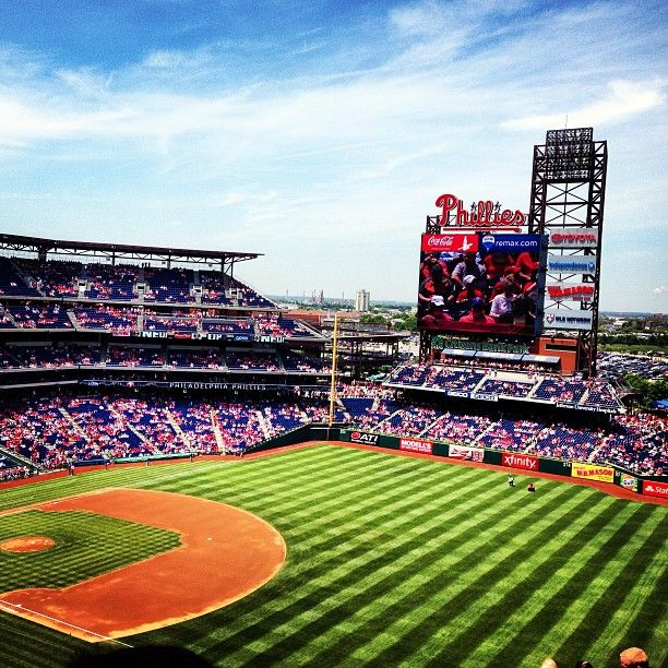 Done it! Philadelphia Phillies Stadium: Pirates vs Phillies