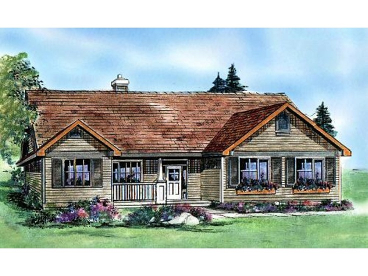 Plan 427 5 front elevation house plans for Houseplans com craftsman