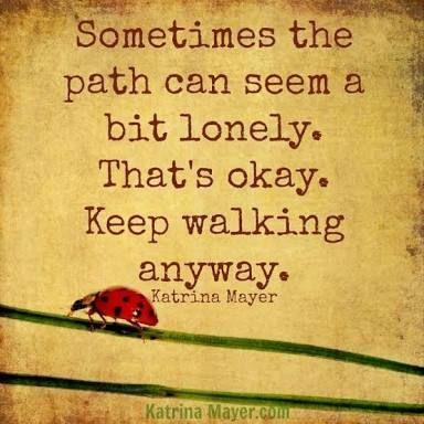 Just keep on keeping on..